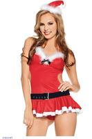 Miss Santa Lingerie Costume  LC7242