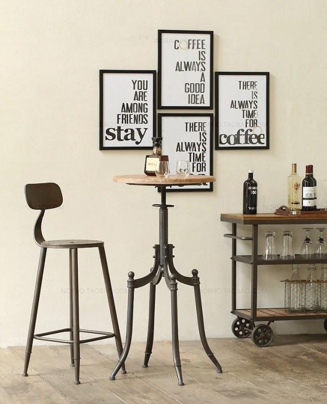 Online kopen wholesale retro stoelpoten uit china retro stoelpoten groothandel - Smeedijzeren stoel en houten ...
