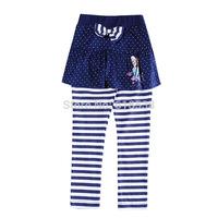New Baby Girls Leggings Frozen Skirt leggings Cartoon Stripe Bow pantskirt Dot Cotton Elsa & Anna Children culottes 1Y-5Y