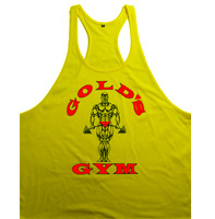 New 2015 Spring Fitness cotton golds gym vest men sleeveless singlet Muscle world of tanks casual tank tops for bodybuilding