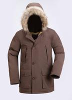 2014 Winter Men's Clothes Down Large Fur Jacket Coat Woolrich Winter Coat Parka Men Luxury High Quality Winter Jacket Man Duck