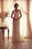 White/Ivory Cap Sleeves Lace Long Wedding Dresses Bridal Gown Vestido de Novia S M L XL 2XL 3XL 4XL 5XL Custom Made