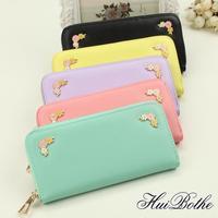 NEW fashion High quality women wallet women 's Clutch large capacity phone bag zipper wallets Brand design purses