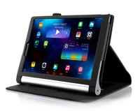 Case for Lenovo YOGA Tablet 2 1050 Litchi Grain Holding Card Removable Tablet Protective Case, Free shipping+Stylus Pen