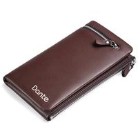 Genuine Leather Wallet cowhide Men's Wallet Male purse Pocket  Wallet  For Men