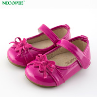 [ND2801-1] 2014 New Styles Girls Shoes, Bow Princess Shoes For Baby, 5 Sizes 2 Colors For Choose + Free Shipping