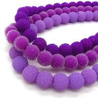 Disco Ball Beads Mix Color Acrylic Plastic Shamballa Bling Bubblegum Half Drill Sparkle Bead Earrings Charm Accessory HB123