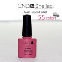 Free  Shipping 12Pcs/lot CND Shellac Soak Off UV LED Nail Gel Polish For Salon Nail Gel Total 47Fashion Colors!