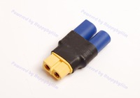 Wholesale Lot (10) EC5 Male to XT60 XT-60 Female Adapter Connector No Wires for RC Turnigy Zippy