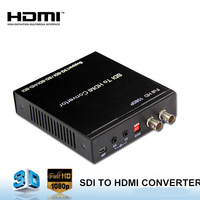 Support 3G/SD/HD-SDI, Support video and audio sync transmissionHDMI TO SDI CONVERTER