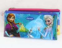 Frozen Peppa Pig PVC Pencil cases pencil bag Cartoon Office & School Supplies FREE SHIPPING
