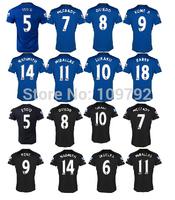 2015 Premier League jersey soccer 2014-2015 home away LUKAKU BARKLEY COLEMAN BAINES ETO'O MIRALLAS OSMAN Football shirts jersey