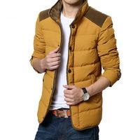 High Quality Winter down jacket men coat winter brand outdoor cotton fashion men casual jacket casacos masculino Plus size M-3XL