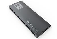 7 port  USB replicator usb ports 2.0 connectors extender  usb hub / usb port / usb splitter / usb to usb adapter / port hub