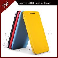 New For Lenovo S960 Leather Flip Phone Case Nillkin Fresh Series
