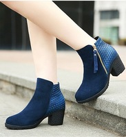 Free shipping 2014 autumn and winter Martin boots explosion models in Europe and America  Genuine Leather  women's boots