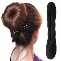 Wholesale Women Hairdisk Hair Device Magice Foam Sponge Hair Styling Doughnut Donut Bun Updo Headwear Hair Accessory FH0012
