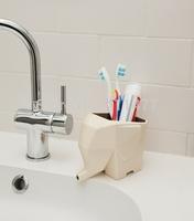 Jumbo Cutlery Drainer Cream Grey Funky Home Gift Kitchen Bathroom,Elephant Drainer