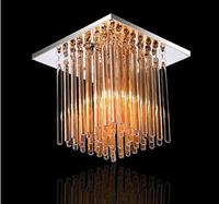 Aisle lights corridor lights crystal lamp led ceiling light square art lamp modern entrance balcony lamp
