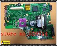 original L500 L505 motherboard V000185100 1310A2250403 PM45 mainboard  6050A2250401-MB-A03 100% Test ok