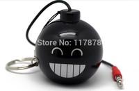 Mini Bomb Speaker enjoy with laptop cellphones Mp3 players 3.5 audio plug