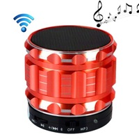 New Mini Wireless Bluetooth Speaker Stereo Speakers with Smart Hands Free Speakers Support SD Card For Phone Red  2014 11 11