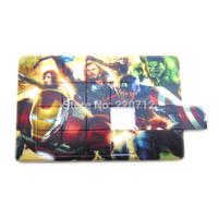Wholesale Customize Jigsaw Puzzle Card Pendrive 8GB New Style Jigsaw Puzzle Card 16GB USB Flash Drive hot Fashion MOQ1000pcs