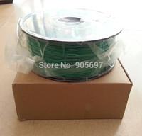 Wholesale 3D Filament Green Color ABS 1.75mm Filament  for Makerbot Prusa Mendel 3D Printer Consumables