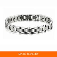 Man Fashion 316L Men Magnetic Titanium Stainless Steel Health Bracelet (MATE B178)