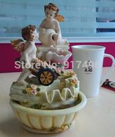 Lucky the fountain flow small ornaments European cute jewelry creative office desktop handicraft ornament
