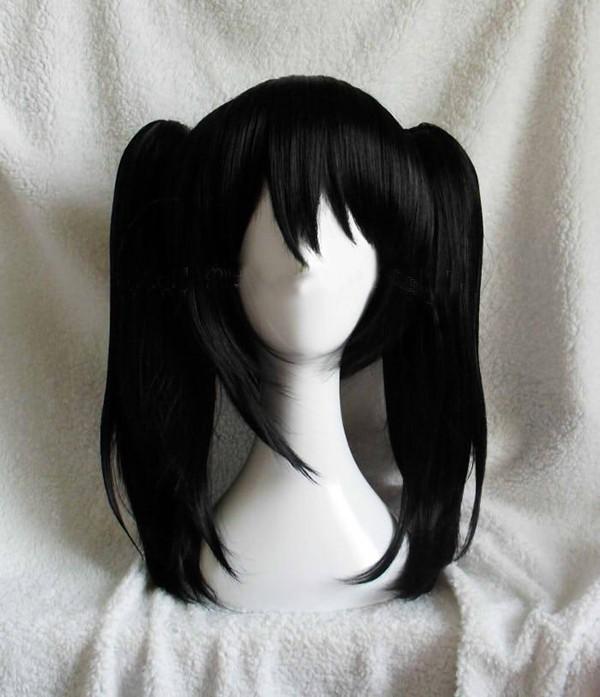 Влюбленность жить! lovelive! yazawa нико двойной конский волос короткая черный аниме косплей парик волос жаростойкий волокно