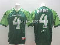Mens CFL Saskatchewan Roughriders Jerseys #4 Darian Durant Green Canada Football League Jersey,Accept Mixed Orders