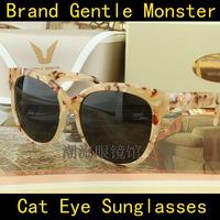 2014 Korea Hot Drama My Love From The Star Actress Jun Ji Hyun Model Cat Eye Sunglasses Gentle Monster La Rouge Oculos Do Sol