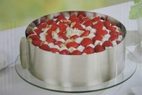 High quality Mousse ring circle mousse cake stainless steel mould 6 - 12 adjustable retractable cake Free Shipping HG013