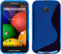 S Line TPU GEL Case Cover  for Motorola MOTO E