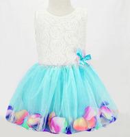 2015 summer christmas children dresses girls princess dress infantis costume girls dress baby clohthes