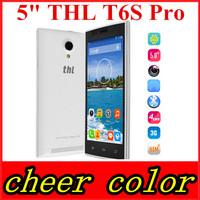 "Cheapest Octa Core THL T6S T6 PRO 5.0"" 1280x720 HD IPS MTK6592M Octa Core Android 4.4 8MP Camera 8GB ROM 3G WCDMA GPS Phone"