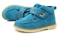 Q8 winter boy's shoes children's boots leather children girls leisure short boots cotton shoes baby winter boots children shoes