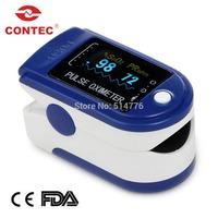 Contec CMS50D Fingertip Pulse Oximeter blood oxygen monitor non-invasive SpO2 medical,Pulse Oximeter ,oxygen monitor