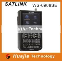 Original Satlink WS-6908SE Digital Satellite Finder Support KB-LIGHT&BACKLIGHT WS6908SE Satellite Meter 6908 SE WS 6908SE