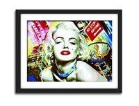 Framed canvas painting by numbers diy digital oil painting hand painted picture oil painting 4050 Marilyn Monroe