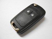 Brand New 2 Buttons Replacement Flip Folding Car Key Shell Blank Remote Case For Chevrolet Free Shipping