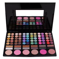 Top Quality Pro Full 78 Color Makeup Eyeshadow Palette Fashion Eye Shadow Make up Shadows Cosmetics  Lip gloss Blush