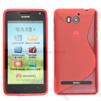 S Line TPU GEL Case Cover  for Huawei Ascend G600