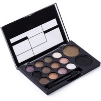 Makeup Glitter Shimmer Eyeshadow Palette Neutral Nude Warm Eyeshadow 14 Colors # M01096