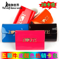 Free Shipping Card Holder Womens Leather Card 26 Degaussing-Proof Leather Business Card Package Wholesale