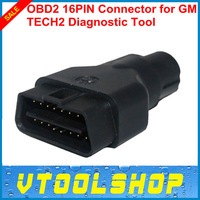 2014 Hot Sale GM TECH2 OBD Diagnostic Tool 16 PIN OBD2 Adapter With 16 PIN OBDII Auto Scanner Adaptor Free Shipping