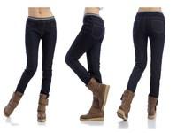 2014New Arrival women Jeans female plus size Maximum 6XL Waist HIPS 114cm skinny Pencil pants Slim Trousers S-6XL
