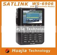 "1pc Original Satlink WS-6906 3.5"" DVB-S FTA digital satellite meter satellite finder ws 6906 satlink ws6906"