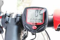 New Arrival Waterproof Digital LCD Bike Computer Cycle Bicycle Bike Speedometer Odometer Free Shipping